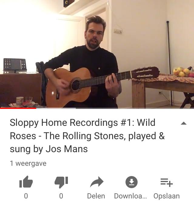 jos mans sloppy home recordings